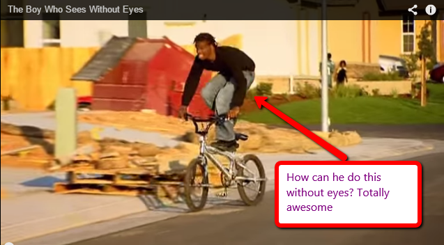 Eyes Boys Boy-without-eyes-rides-bike